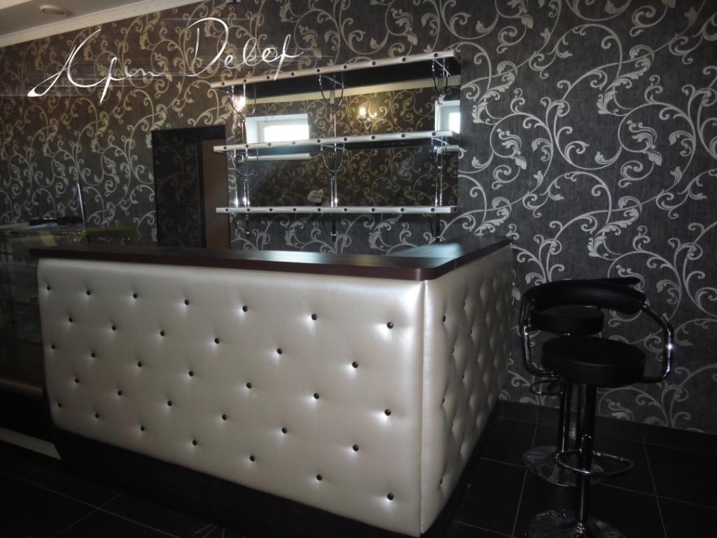 Дизайн барной стойки кафе
