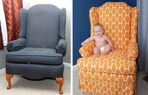 Как правильно перетянуть диван в домашних условиях